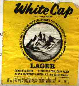 White Cap Label